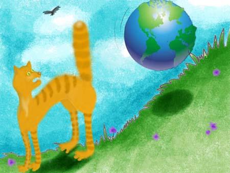 Фразеологизмы с котами